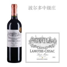 法国波尔多中级庄 拉梦莎酒庄红葡萄酒 2012年