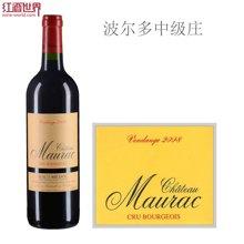 法国波尔多中级庄 莫哈克酒庄红葡萄酒 2008年