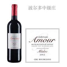 法国波尔多中级庄 爱慕酒庄红葡萄酒 2012年