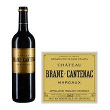 法国1855二级庄玛歌法定产区 布朗康田酒庄红葡萄酒 2012年