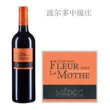 法国波尔多中级庄 拉莫之花酒庄红葡萄酒 2011年