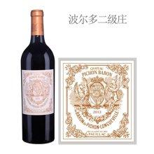 法国1855二级庄 碧尚男爵酒庄红葡萄酒 2013年