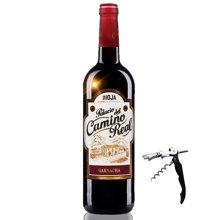 西班牙原瓶进口红酒 DOC级别 卡米诺城堡歌海娜干红葡萄酒2013年750ml 进口葡萄酒
