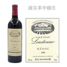法国波尔多中级庄 露德尼酒庄红葡萄酒 2007年