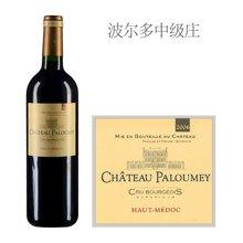 法国波尔多中级庄 帕洛美城堡红葡萄酒 2006年