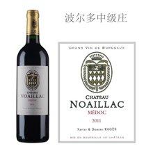 法国波尔多中级庄 诺亚城堡红葡萄酒 2011年