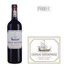 法国1855四级庄 龙船庄园红葡萄酒 2014年