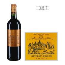 法国1855三级庄 迪仙庄园红葡萄酒 2012年