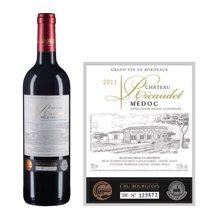 法国波尔多中级庄 海歌酒庄红葡萄酒 2011年