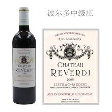 法国波尔多中级庄 莱温迪酒庄红葡萄酒 2008年