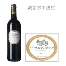 法国波尔多中级庄 赫杜酒庄红葡萄酒 2011年