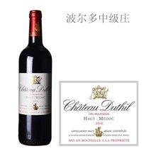 法国波尔多中级庄 独秀酒庄红葡萄酒 2010年