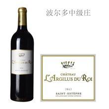 法国波尔多中级庄 安吉乐王酒庄红葡萄酒 2012年