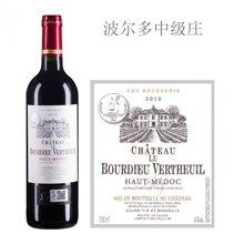 法国波尔多中级庄 布迪沃特酒庄红葡萄酒 2010年