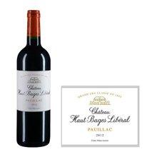 法国1855五级庄 奥巴里奇城堡红葡萄酒 2012年