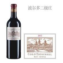 法国1855二级庄 爱士图尔庄园红葡萄酒 2012年
