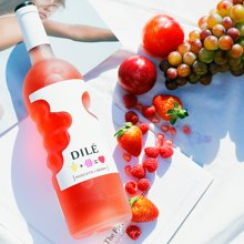 【包邮】意大利进口 dile上帝之手帝力莫斯卡托浆果味起泡配制酒750ml 甜酒