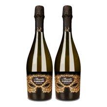 【约会派对精品酒】意大利进口 爱佳诺莫斯卡托甜白起泡酒 750ml(2支)