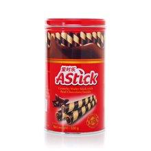 $爱时乐巧克力味威化卷心酥(330g)