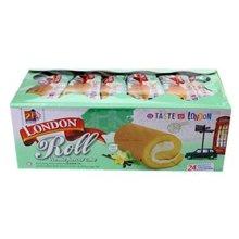 马来西亚进口 伦敦LONBISCO瑞士卷480g 椰香味/香草味/草莓味/提拉米苏味/芒果味