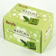 马来西亚 倍乐思 绿茶膨化麦芽白巧克力60g*1 喜糖礼物 进口巧克力零食品