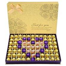 费列罗巧克力礼盒77粒装 费力罗巧克力节日送女友