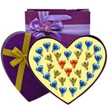 好时kisses巧克力30粒心形礼盒装DIY创意礼盒装教师节婚庆礼物