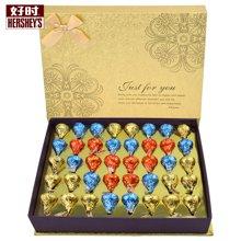 包好时巧克力心形礼盒装好时之吻kisses教师节巧克力礼物40粒礼盒装