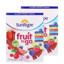 【2盒装】【加拿大】SunRype天然果肉果丹皮72条