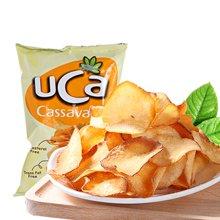 马来西亚进口 UCA原味/香辣味/烧烤味木薯片120g 膨化即食零食小吃美食下午茶点