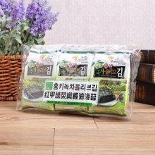 红甲绿茶橄榄油海苔((4g*3))