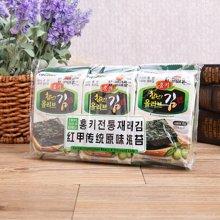 红甲传统原味海苔((4g*3))