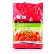 新加坡进口方便面 KOKA可口辣味星洲炒面85g 辣味方便面快熟泡面