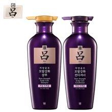 吕 滋养韧发密集强韧特惠装 (油性头皮)  400ml洗发水+400ml护发乳 套装