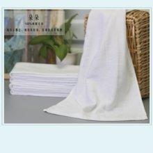 【山东孚日集团,世界巾被旗舰 ▍✔日式系列】双层纱布白毛巾~~有微瑕,谨慎购买哦