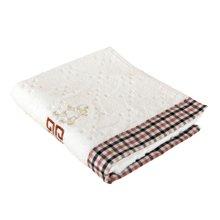 【三利毛巾面巾,妈妈放心】三利素色割绒提花面巾