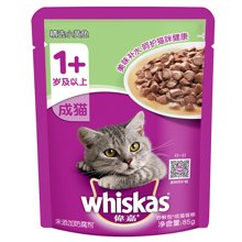 伟嘉妙鲜包成猫小黄鱼味85g