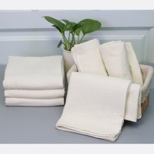 【山东孚日集团,世界巾被旗舰▍✔舒适系列】双层本色浴巾-原白已无货,只剩同款漂白色