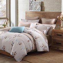 博洋家纺 高支全棉印花床上用品床单四件套-芳馨