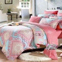 博洋家纺 高支全棉印花床单四件套 床上套件-西耶娜