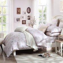 博洋家纺 长绒棉贡缎床单四件套-浮香寻踪 新品