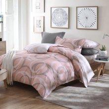 博洋家纺 高支全棉印花床单四件套-小时光 新品