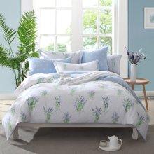 博洋家纺 高支全棉印花床单四件套-苜蓿花开