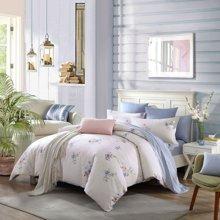 博洋家纺 高支全棉印花床单四件套-温妮莎 新品
