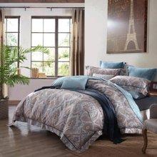 博洋家纺 PIMA棉床单四件套-印象卢浮 新品