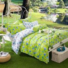 羽芯家纺田园风格全棉斜纹床上用品四件套YC860070