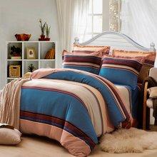 VIPLIFE加厚保暖精梳长绒棉磨毛四件套纯棉床单被套