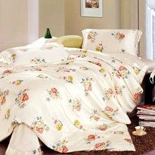 太湖雪 真丝四件套100%桑蚕丝婚庆套件 丝绸床上用品正品特价