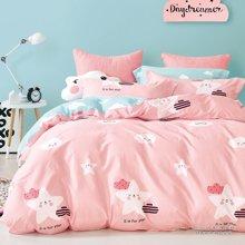帝豪家纺 床上四件套纯棉全棉1.2m床 1.5m床 1.8m床上用品床单被套三件套