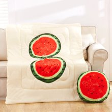 羽芯家纺 3D水果两用抱枕被靠垫被沙发办公室午休枕头 绗缝被 汽车抱枕